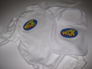 Wack music; smoove and turrell; handmade baby clothes