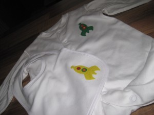 Hand made baby clothes