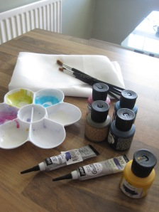 Silk painting tools
