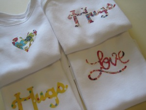 Liberty fabric inspired baby grows